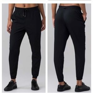 Lululemon In-Depth Joggers Black Track Pants